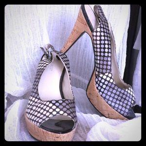 Nine West Polka-dot Heels